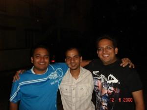 Abhi, Ajay and me!